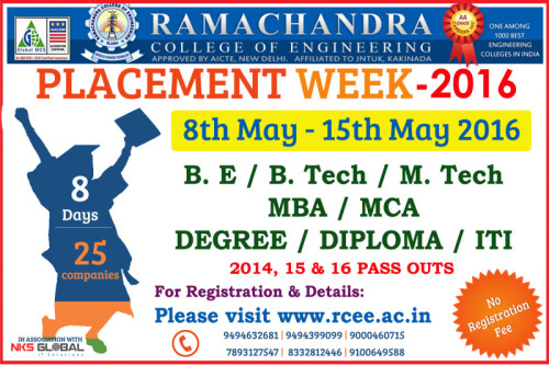 State Level Placement Week Fest Job Fair 2016