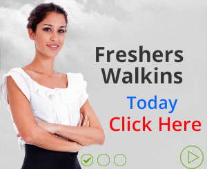 Freshers Jobs and Walkins | Latest Freshers Job Openings