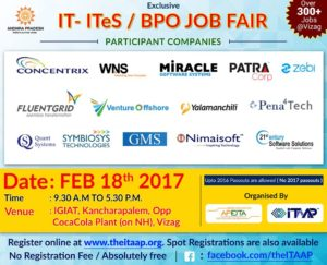 ITAAP-APEITA Mega Job Fair 2017